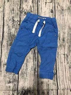 🚚 Next藍色長褲12-18