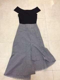 Black top n dress