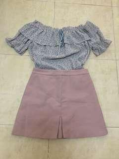 Top n skirt in set