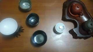 日本油滴釉 杯碗