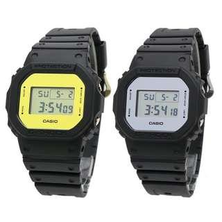 100% Brand New Authentic Casio Gshock Mirror Face DW5600 Gold Silver With FREE DELIVERY 📦 G-Shock Unisex