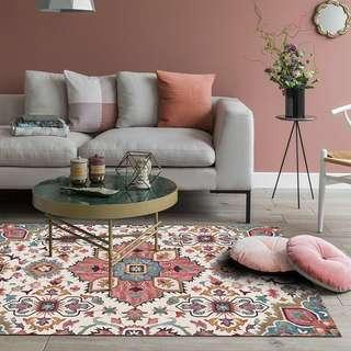 🚚 PO Moroccan Bohemian Living Room Carpet Rug