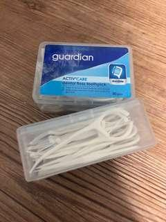 🚚 Cheap Selling PROMO 2 FOR $2🛍 Guardian Dental Floss Toothpick