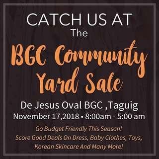 BGC Community Yard Sale
