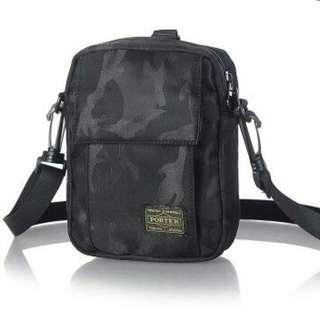 Porter head camo yoshida sling mini bag
