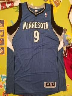Adidas Authentic Ricky Rubio Timberwolves Jersey