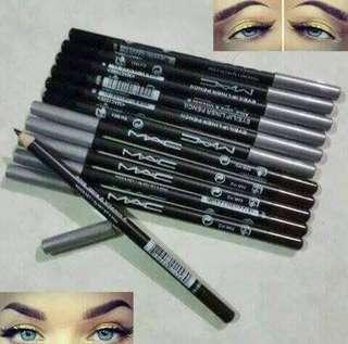 6 pcsMac eyeliner pencil