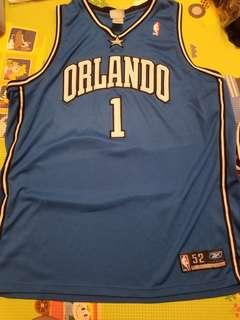 Authentic Adidas Tracy Mcgrady Magic Jersey