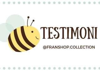 TESTIMONI FRANSHOP COLLECTION