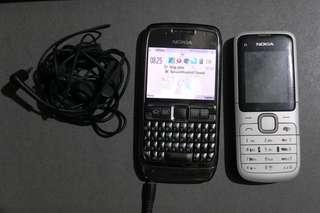 Nokia E71 + Nokia C1 Bundle Complete with charger and headset