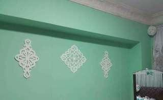 Wall White Foam Decors
