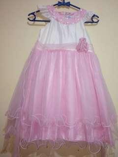 Pink White Dress #momjualan #jualanibu