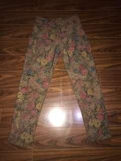 FLORAL HighWaisted Legging | Size: S/M