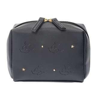 🌟日本Disney store直送🌟米奇 Mickey  公仔 壓花 刺繡 pu皮 化妝袋 筆袋 收納包 pouch