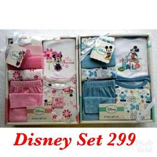 Disney Newborn All in one set clothing