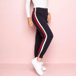 BRANDY MELVILLE STRIPED SWEATS