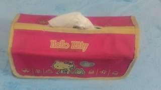🚚 三款風格獨特造型面紙盒*hello kitty*熊*玫瑰