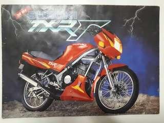 Brochure Suzuki TXR Gamma 150