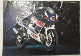 Brochure Yamaha TZM 150