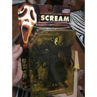 McFarlane Toys Movie Maniacs 2 Ghost Face figure 1999 Brand New Sealed Scream