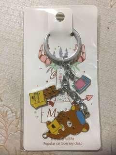 [NEW] Rillakuma 3 Charm Keychain