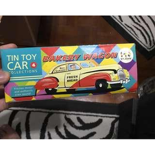 Tin Toy Car Collections - Bakery Wagon