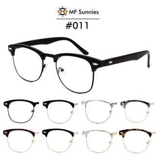MFSunnies Clubmaster Computer Anti Radiation/Blue light Classic Metal Hinges High quality acetate frame #011