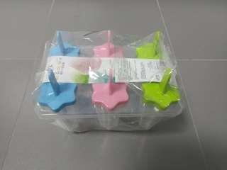 Popsicle Maker or Ice Cube Tray 6pc set @ $5 only!!!