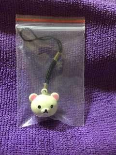 [NEW] Rillakuma Bear Bell Charm