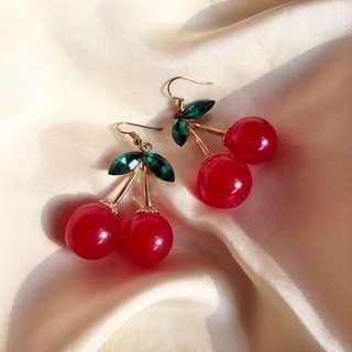 PRE-ORDER!! Cherry Bomb Earrings
