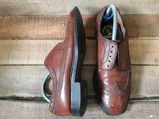 Sepatu kulit Regal shoes handmade original second size 42