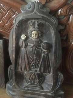 Religous wood carving