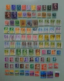 香港郵票 全部不同共 HKD$50.00 HONG KONG STAMP