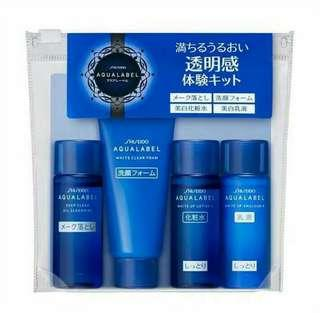 Shiseido Aqualabel BLUE line Trial size