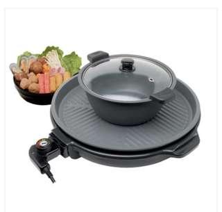 Morries BBQ Grill with Hotpot