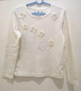 Almost New! Place Cream Cotton Top