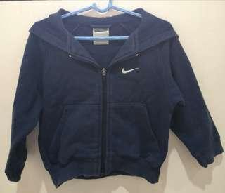 Nike Navy Blue Hooded Sweater