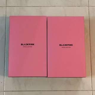 instock black pink blackpink lightstick and lightstick keyring