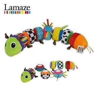 Lamaze mix and match caterpillar activity toy