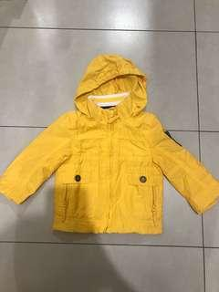 Chicco Yellow Hooded Parka