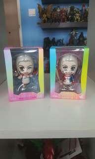 Hot Toy Cosbaby Harley Quinns Set