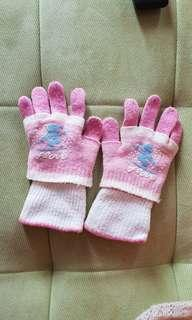 Sarung tangan pink