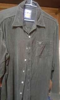 Lee厚襯衫
