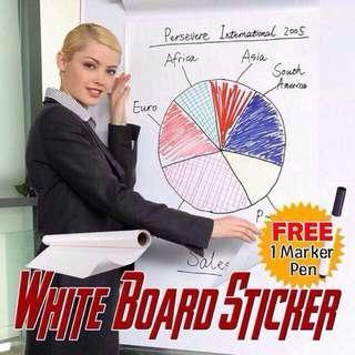 WhiteBoard / BlackBoard Sticker