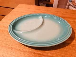 90% new Le Creuset coolmint 分隔碟