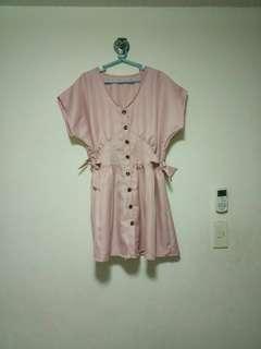 Pastel Buttondown Dress