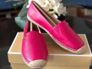 MK Espadrille Pink Brand New Original