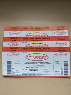BATAM FAST PHYISICAL OPEN TICKETS