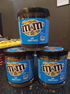 M&m's spread