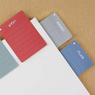 🚚 [In stock] Lined post it pad/memo